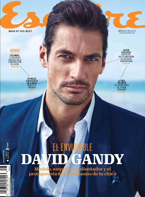 David Gandy Esquire cover